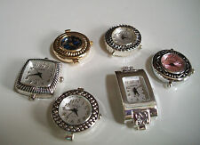 SET OF 6 ASSORTED WATCH FACES FOR BEADING OR OTHER USE