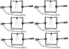 Lot Of 1-12 Bridger 4D X 4D #120 BodyGripper Body Grip Animal Traps Trapping
