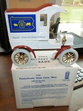 PA Farm Show 1905 Ford Delivery Car Ertl Truck Bank