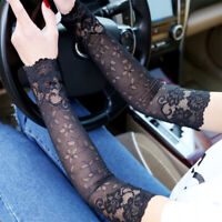 outdoor Lace Sleeve Gloves Summer Sunscreen Women Anti UV Sun Protection Arms