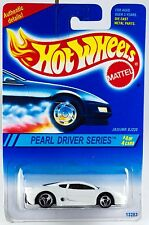 Hot Wheels No. 296 Pearl Driver Series #4 Jaguar XJ220 3 Spoke Wheels New 1995