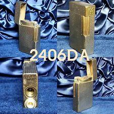 Briquet Dupont gaz ligne 1 type BS plaqué Or grand modèle Homme Port gratuit