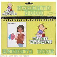 MEMENTO BOOK Baby Shower Party Keepsake Boy Girl Unisex