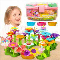 Flower Garden Building Toys Build a Bouquet Sets for 3, 4, 5, 6 Year Old Kids