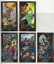 SUPERMAN PLATINUM SERIES 1994 - 5 CARD LOT - NRMT CONDITION