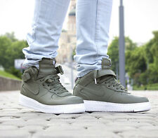 Nikelab Air Force 1 Mid Nike Mid Sneaker casual-UK 11 (EUR 46) Urban Haze