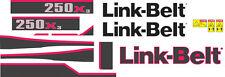 Link-Belt 250X3 Decal Kit