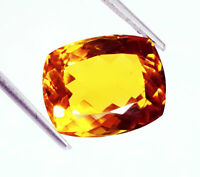 Loose Gemstone Certified 12.65 Cts 100 %Natural Citrine