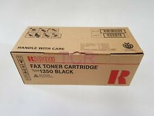 Ricoh Genuine Black Type 1350 Toner Cartridge 430354 Fax 3310/4410L