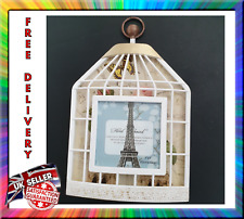 3d Display Orthogonal Deep Shadow Cage Photo Picture Frame White 26x17cm