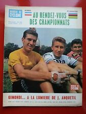 1965 miroir du cyclisme n°62 AVANT CHAMPIONNATS DU MONDE ET FRANCE GIMONDI