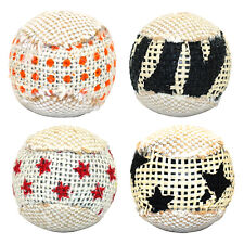 1stk Sisal Katzenspielzeug Spiel Katze Katzen Spielzeug Ball Kratzen Rassel set