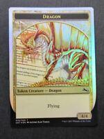 Dragon Token Foil - Mtg Magic Cards #CX
