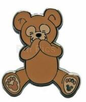 DUFFY THE DISNEY TEDDY BEAR Hidden Mickey COMPLETER DISNEY PIN 62720