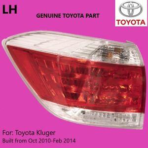 GENUINE Toyota Kluger Left Tail Light 2010 2011 2012 2013 2014