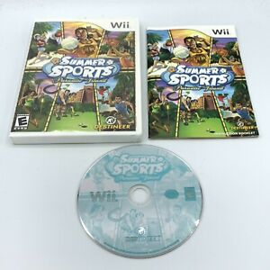 Summer Sports Paradise Island (Nintendo Wii 2007) Complete With Manual CIB
