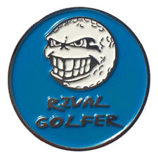 'Electric' BLUE Golf Ball Marker