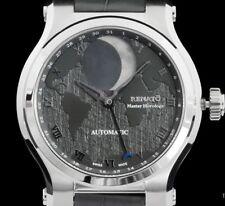 New Renato Hand Modified by Martin Braun Automatic Patented Moon Alligator Watch