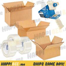 Shipping Packing Cardboard Box🍯Paper Tape Mailer Corrugated Carton Sealing Roll