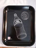 Vintage Coca Cola Tray Diet Coke 1985 Canadian Limited Edition Black