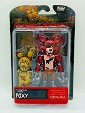 FOXY FIVE NIGHT'S AT FREDDYS FNAF FUNKO ARTICULATED AUTHENTIC ACTION FIGURE