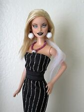 OOAK custom Fashionista Barbie doll Makeover, repaint w/handmade outfit