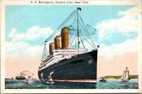Postcard S S Berengaria Cunard Line New York