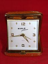 ANCIEN RÉVEIL MÉCANIQUE DE VOYAGE KIPLÉ 7 RUBIS / HORLOGE PENDULE OLD CLOCK (n°3