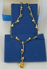 Avon Extraordinary Briolette Vine Necklace New