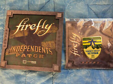 Loot Crate Firefly Independents Patch & Serenity Valley Veteran Pin