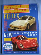 KITCARS AND SPECIALS JULY 1987 CN SPRINT REFLEX BULLDOG Kit car Build