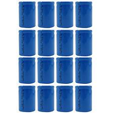 16 stk. 4/5 Sub C 1600mAh 1.2V Ni-Cd Wiederaufladbare Batterie Zelle Flat-Top