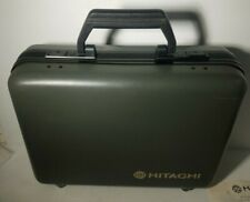 Hitachi 8mm Camcorder Hard Case w / Accessories & Keys (Vme15A / Vmh18A)