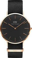 Daniel Wellington DW00100148 Classic Black Cornwall Men's Watch RRP $279