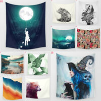 Size 150*130CM Art Tapestry Wall Hanging for Living Room Bedroom Home Decor  NEW