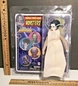 "UNIVERSAL STUDIOS Classic Monsters THE BRIDE OF FRANKENSTEIN 8"" Retro HORROR NIP"