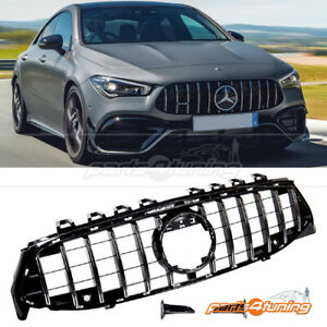 MERCEDES BENZ CLA W118 C118 2019-On FRONT GRILLE CHROME GT PANAMERICANA STYLE