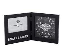"""HARLEY-DAVIDSON Reloj de Mesa """" Frame """"Marcos de cuadros 96822-16v"""