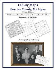 Family Maps Berrien County Michigan Genealogy MI Plat