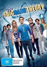 THE BIG BANG THEORY : SEASONS 1 2 3 4 5 6 : NEW DVD