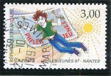 TIMBRE FRANCE OBLITERE N° 3059 PHILEXJEUNES 97 NANTES / Photo non contractuelle