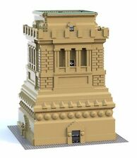 Lego MOC Instructions for 3450 Statue of Liberty Pedestal 10189 10181 10234