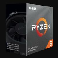 AMD RYZEN 5 3500X 6-Core 3.6 GHz (4.1 GHz Turbo) Socket AM4 Desktop Processor