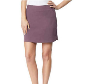 32 DEGREES Cool Ladies' Skort With Side Pockets, Purple (dark plum), Size M