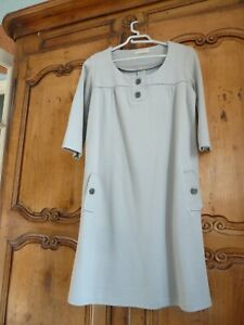 robe sandro grise taille M