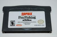 Rapala Pro Fishing Nintendo Game Boy Advance Video Game Cart