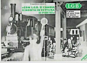 LGB PROGRAMMA 1972/73 EDIZIONE ITALIANA OTTIME CONDIZIONI
