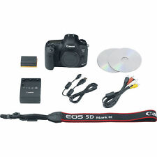 Sale Canon Eos 5D Mark III 22.3 Mp Dslr Camera 5260B002 Retail Box Spring Deals