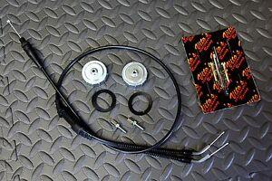 Vito's TORS REMOVAL ELIMINATOR KIT Banshee throttle cable caps idle screws