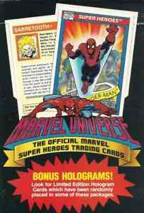 1990 Impel Marvel Universe Series 1 Pick Your Card (QTY)